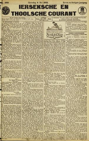 Ierseksche en Thoolsche Courant 1922-05-06