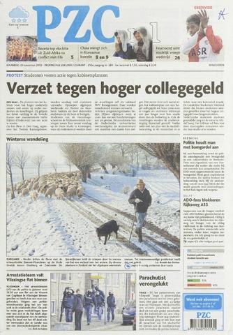 Provinciale Zeeuwse Courant 2010-11-29