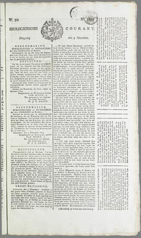 Zierikzeesche Courant 1824-11-09
