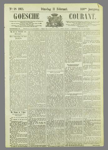 Goessche Courant 1913-02-11