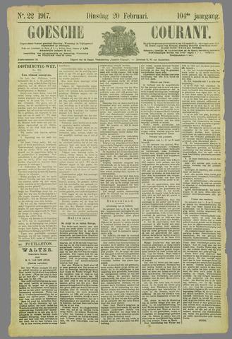 Goessche Courant 1917-02-20