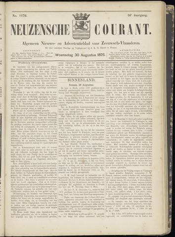 Ter Neuzensche Courant. Algemeen Nieuws- en Advertentieblad voor Zeeuwsch-Vlaanderen / Neuzensche Courant ... (idem) / (Algemeen) nieuws en advertentieblad voor Zeeuwsch-Vlaanderen 1876-08-30