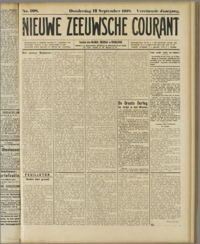 Nieuwe Zeeuwsche Courant 1918-09-12