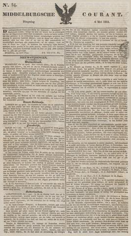 Middelburgsche Courant 1834-05-06