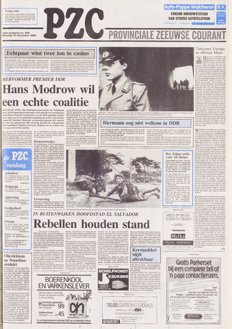 Provinciale Zeeuwse Courant 1989-11-14