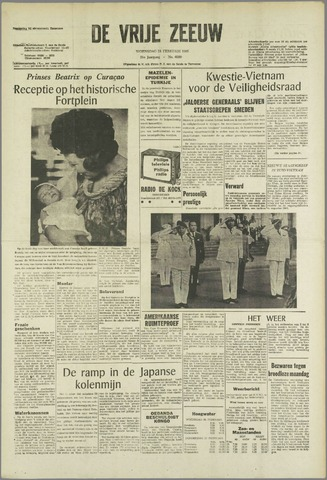 de Vrije Zeeuw 1965-02-24