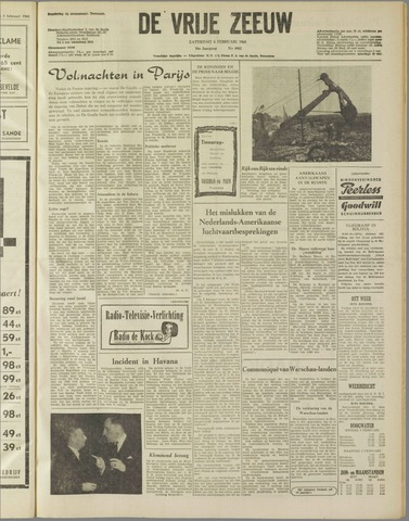 de Vrije Zeeuw 1960-02-06