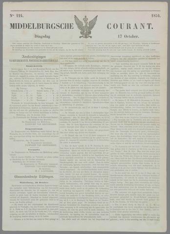 Middelburgsche Courant 1854-10-17
