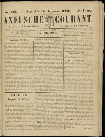 Axelsche Courant 1889-08-10