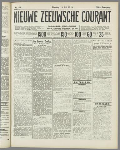 Nieuwe Zeeuwsche Courant 1915-05-18