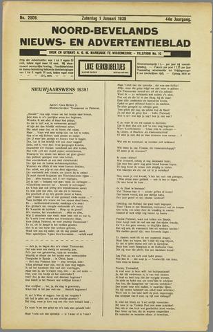 Noord-Bevelands Nieuws- en advertentieblad 1938