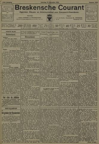 Breskensche Courant 1930-11-22