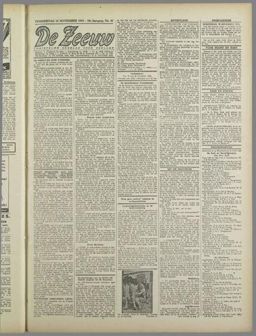 De Zeeuw. Christelijk-historisch nieuwsblad voor Zeeland 1943-11-18
