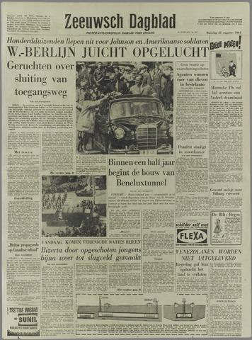 Zeeuwsch Dagblad 1961-08-21