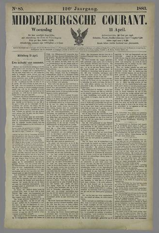 Middelburgsche Courant 1883-04-11