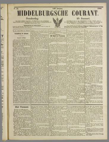 Middelburgsche Courant 1906-01-25