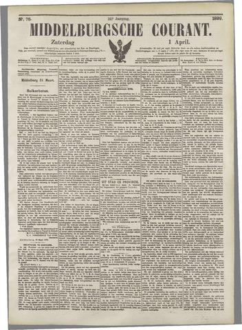 Middelburgsche Courant 1899-04-01