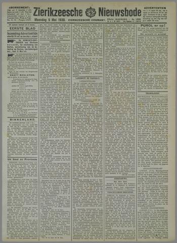 Zierikzeesche Nieuwsbode 1930-05-05