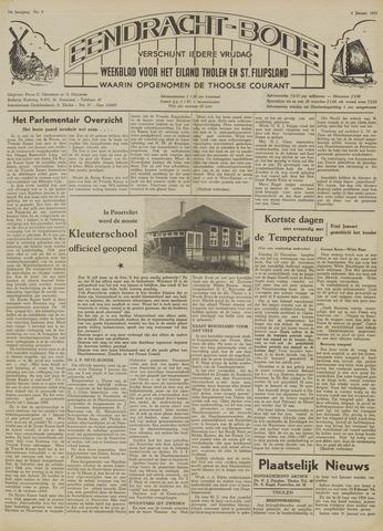 Eendrachtbode (1945-heden)/Mededeelingenblad voor het eiland Tholen (1944/45) 1954