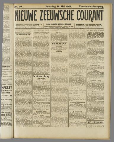 Nieuwe Zeeuwsche Courant 1918-05-18