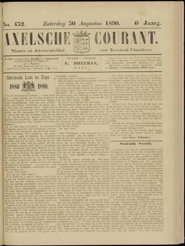 Axelsche Courant 1890-08-30