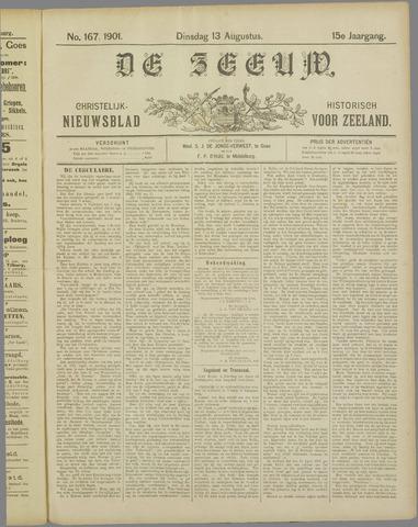 De Zeeuw. Christelijk-historisch nieuwsblad voor Zeeland 1901-08-13