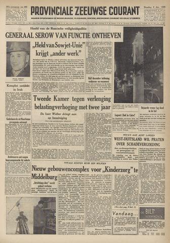Provinciale Zeeuwse Courant 1958-12-09