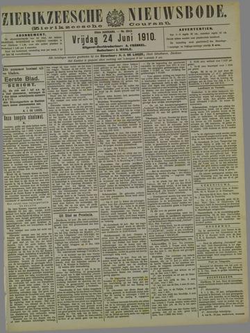Zierikzeesche Nieuwsbode 1910-06-24