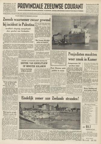 Provinciale Zeeuwse Courant 1956-07-26