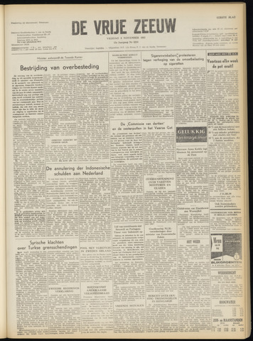 de Vrije Zeeuw 1957-11-08