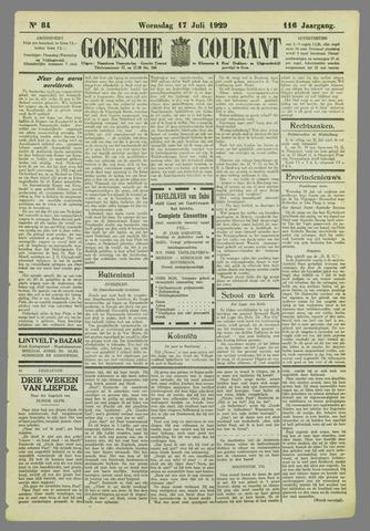 Goessche Courant 1929-07-17