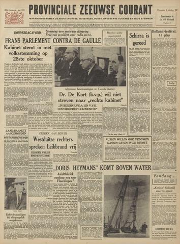 Provinciale Zeeuwse Courant 1962-10-03