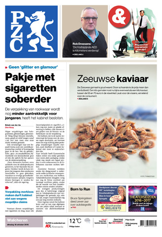 Provinciale Zeeuwse Courant 2016-10-18