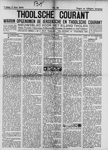 Ierseksche en Thoolsche Courant 1942-06-05