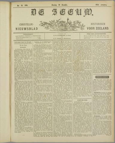 De Zeeuw. Christelijk-historisch nieuwsblad voor Zeeland 1896-12-29