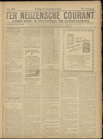 Ter Neuzensche Courant. Algemeen Nieuws- en Advertentieblad voor Zeeuwsch-Vlaanderen / Neuzensche Courant ... (idem) / (Algemeen) nieuws en advertentieblad voor Zeeuwsch-Vlaanderen 1927-09-30