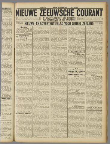 Nieuwe Zeeuwsche Courant 1930-10-28