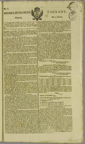 Middelburgsche Courant 1815