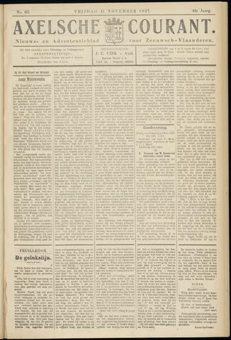 Axelsche Courant 1927-11-11