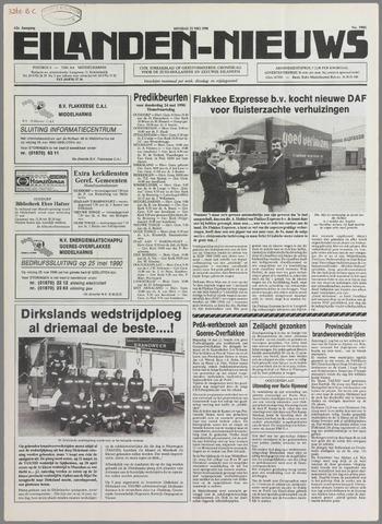 Eilanden-nieuws. Christelijk streekblad op gereformeerde grondslag 1990-05-22