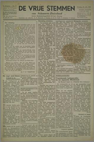 Vrije Stemmen van Schouwen-Duiveland, tevens mededeelingenblad Militair Gezag 1945-07-24