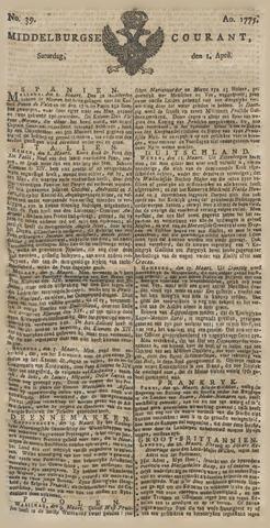 Middelburgsche Courant 1775-04-01