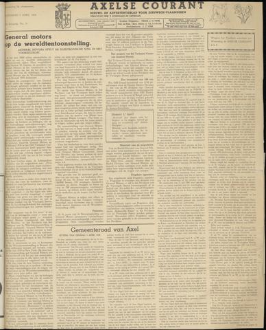 Axelsche Courant 1958-04-05