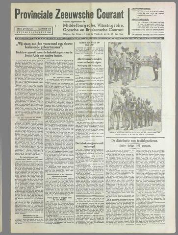 Provinciale Zeeuwse Courant 1940-08-02