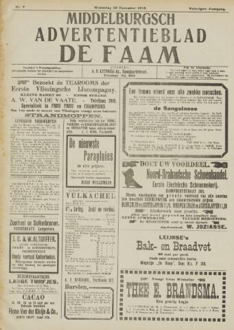 de Faam en de Faam/de Vlissinger 1915-11-10