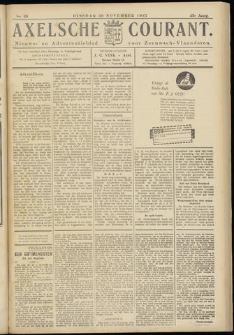 Axelsche Courant 1937-11-30