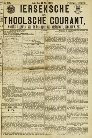 Ierseksche en Thoolsche Courant 1903-05-16