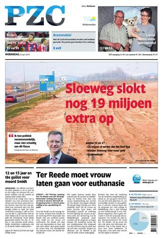 Provinciale Zeeuwse Courant 2015-04-22
