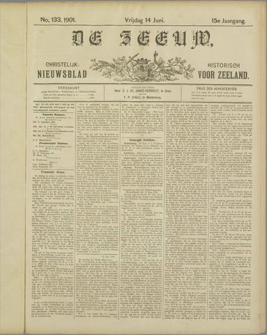 De Zeeuw. Christelijk-historisch nieuwsblad voor Zeeland 1901-06-14