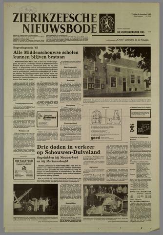 Zierikzeesche Nieuwsbode 1981-12-04